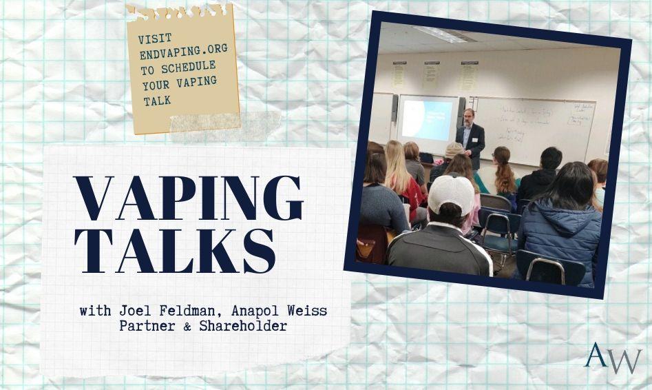 Vaping Talks by Joel Feldman