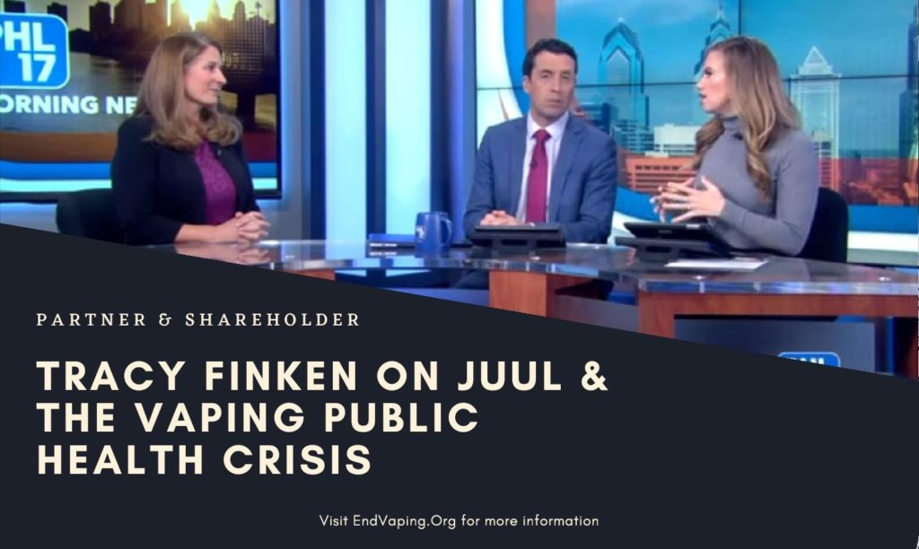 Tracy Finken on PHL17 Vaping