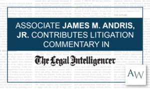 James Andris The Legal Inteligencer