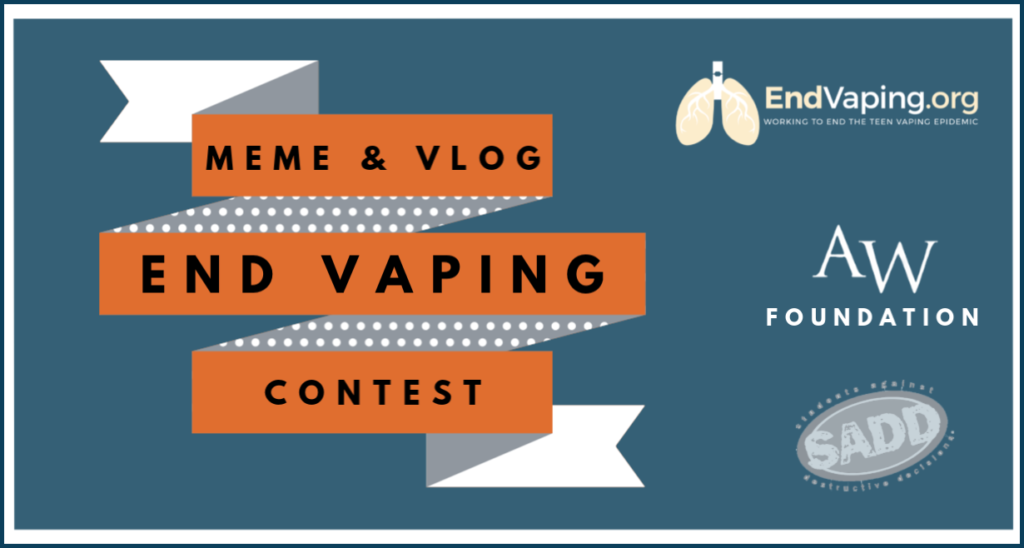 End Vaping contest
