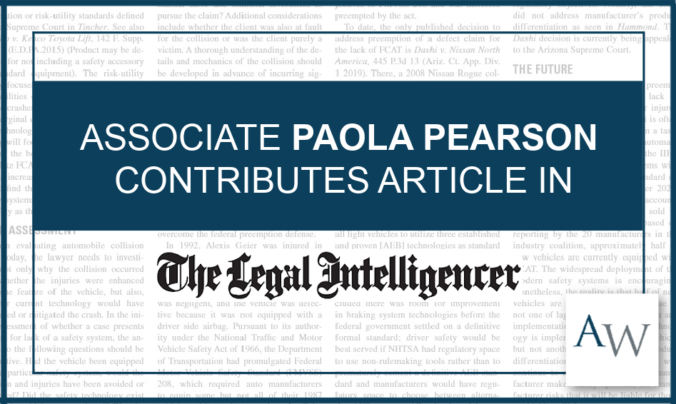 paola pearson legal intelligencer